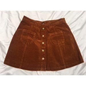 BNWT Brandy Melville Corduroy Skirt
